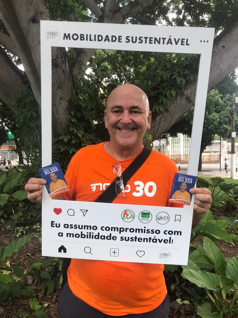Candidato Mathias Menezes (NOVO)