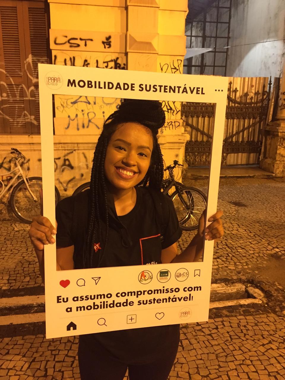 Candidata Beatriz Caminha (PT)