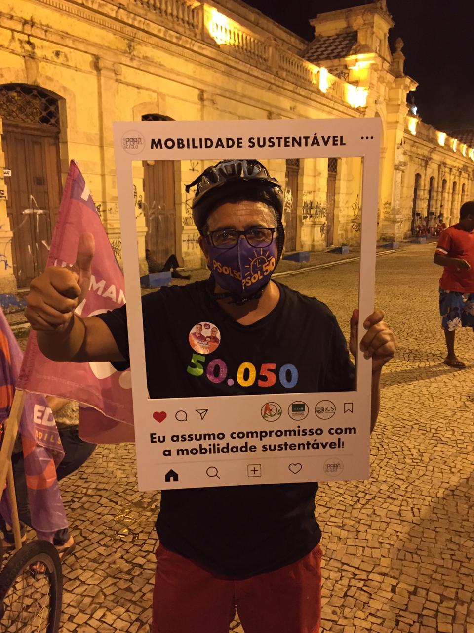 Candidato Ver. Fernando Carneiro (PSOL)