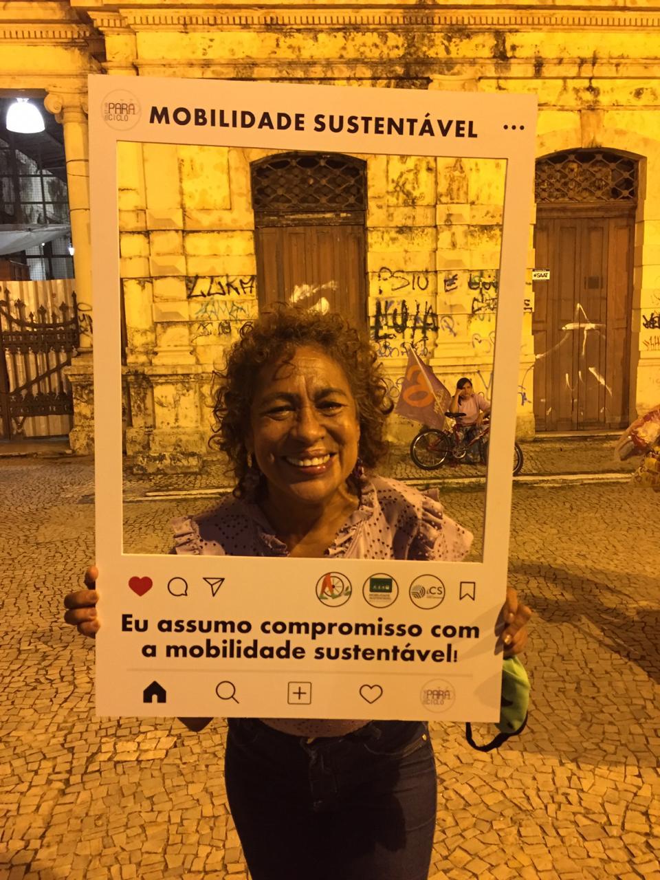 Candidata Ver. Enfermeira Nazaré (PSOL)