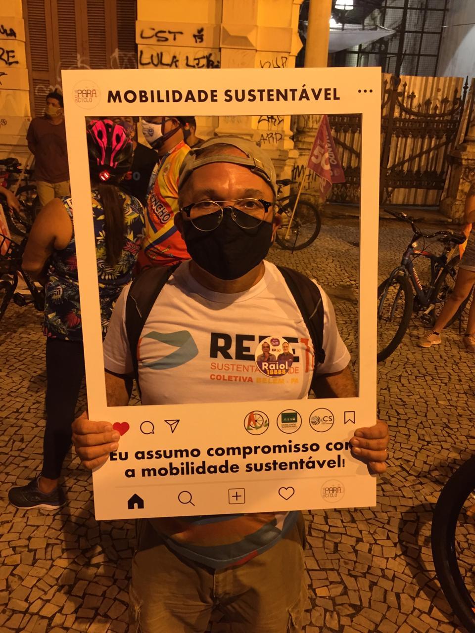 Candidato Célio Raiol (REDE)