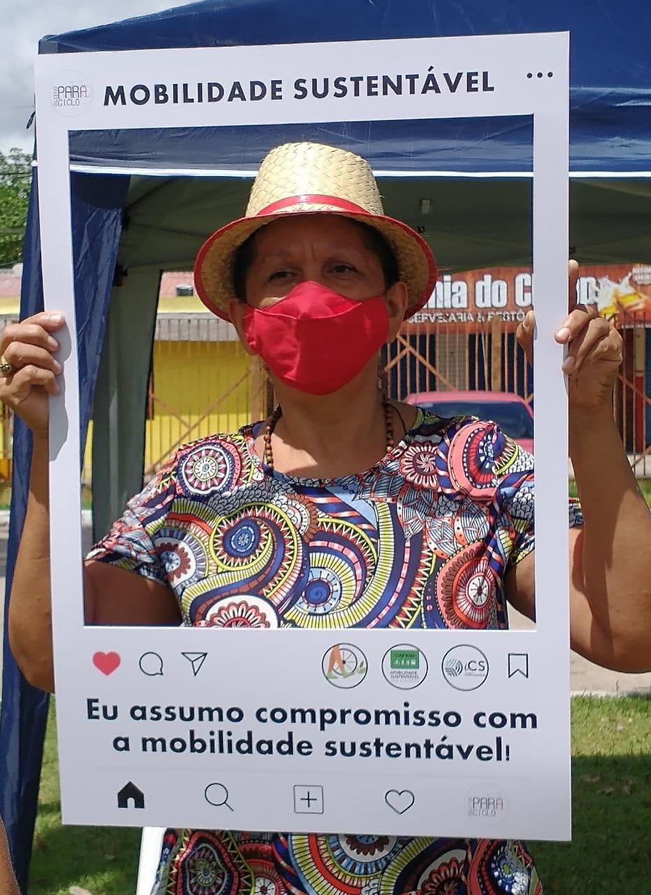 Candidata Rose do Mercado (PT)